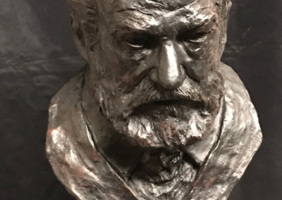 buste Victor Hugo bronze Lartigue